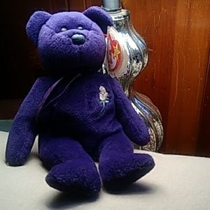 Princess Diana collector Beanie Bear